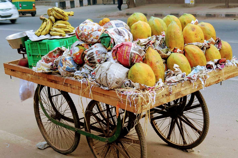 fruit vendor Delhi