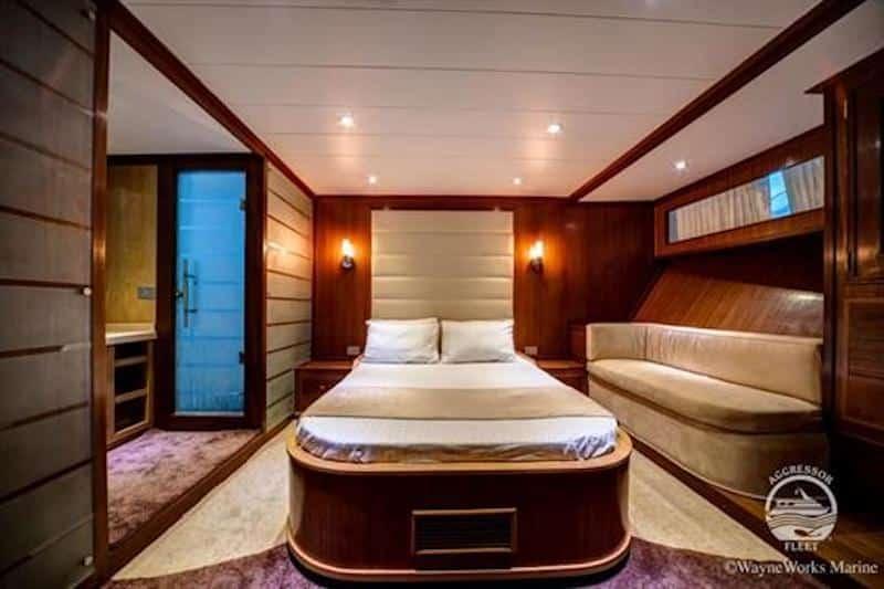 Red Sea Aggressor II Cabin