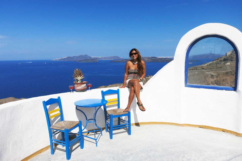 visa for Europe Santorini