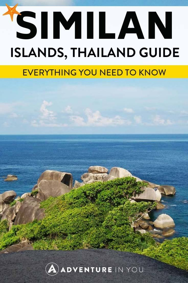 Similan Islands Thailand | Planning a trip to the Similan Islands? Whether you want to go on a liveaboard or just a day trip, take a look at our complete travel guide #similanislands #liveaboard