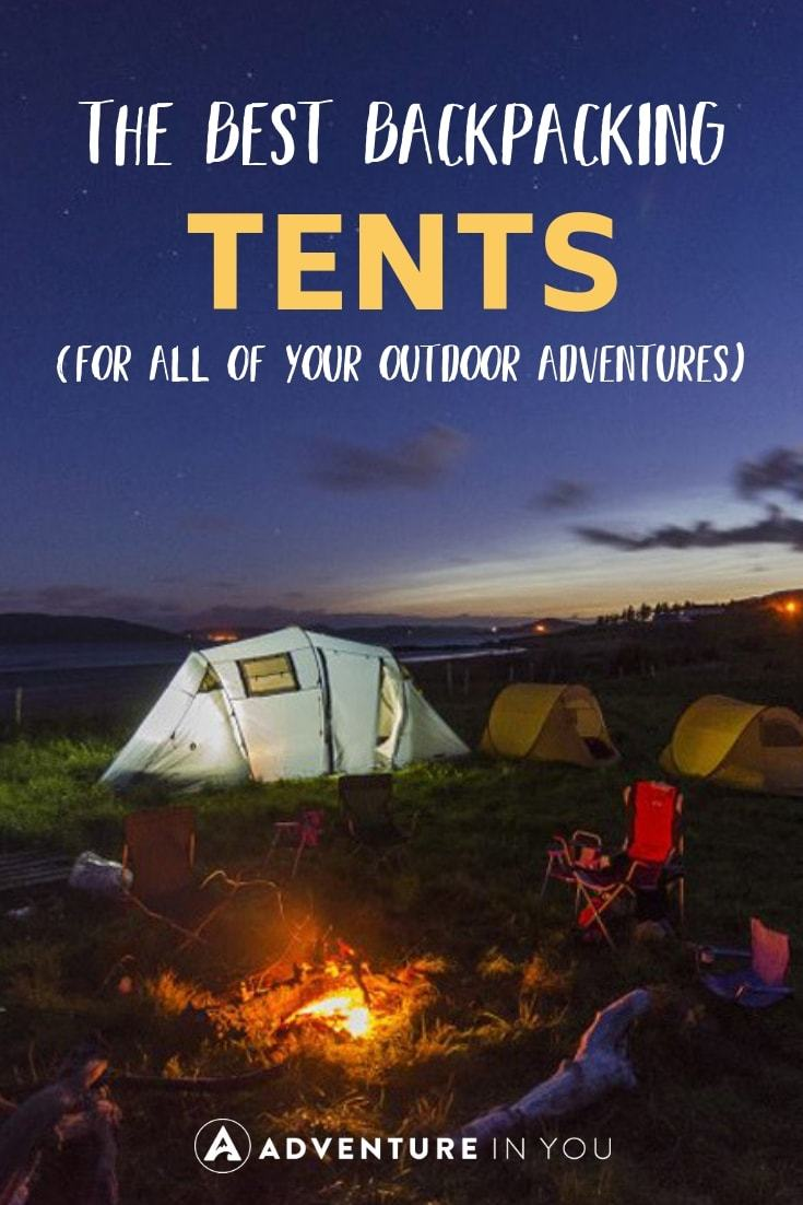 Best Backpacking Tents | Every avid backpacker needs a trusty tent. Check out our reviews of the 10 best tents to take along on all of your outdoor adventures! #camping #backpackingtents #travelgear