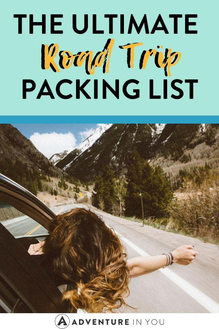 Road Trip Packing List | Setting off on a driving adventure? Make sure you have everything you need with this packing list! #roadtrip #packinglist #explore