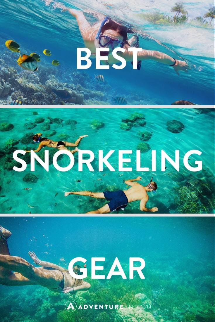 Best Snorkeling Gear | Looking for some quality snorkeling gear? Check out our full comparison of the best gear on the market! #snorkeling #snorkelgear