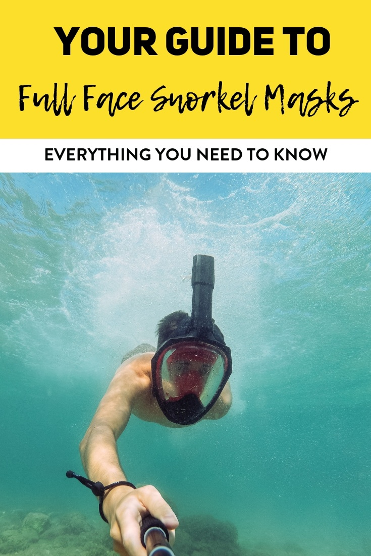 Full Face Snorkel Masks | Looking for a new way to snorkel? Here's everything you need to know about full face snorkel masks along with complete reviews! #snorkel #fullfacesnorkelmask #snorkelgear