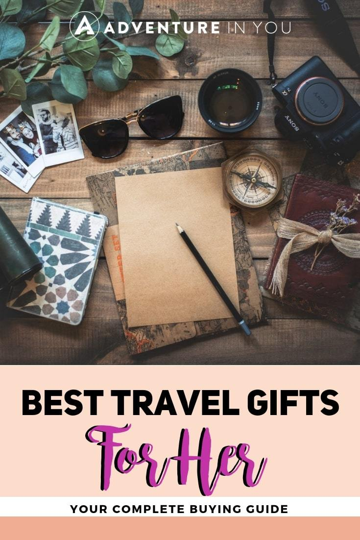 Best Travel Gifts For Her | Shopping for the female traveler in your life? Check out this complete guide to choosing the perfect gift for her! #travelgifts #travelgiftsforher