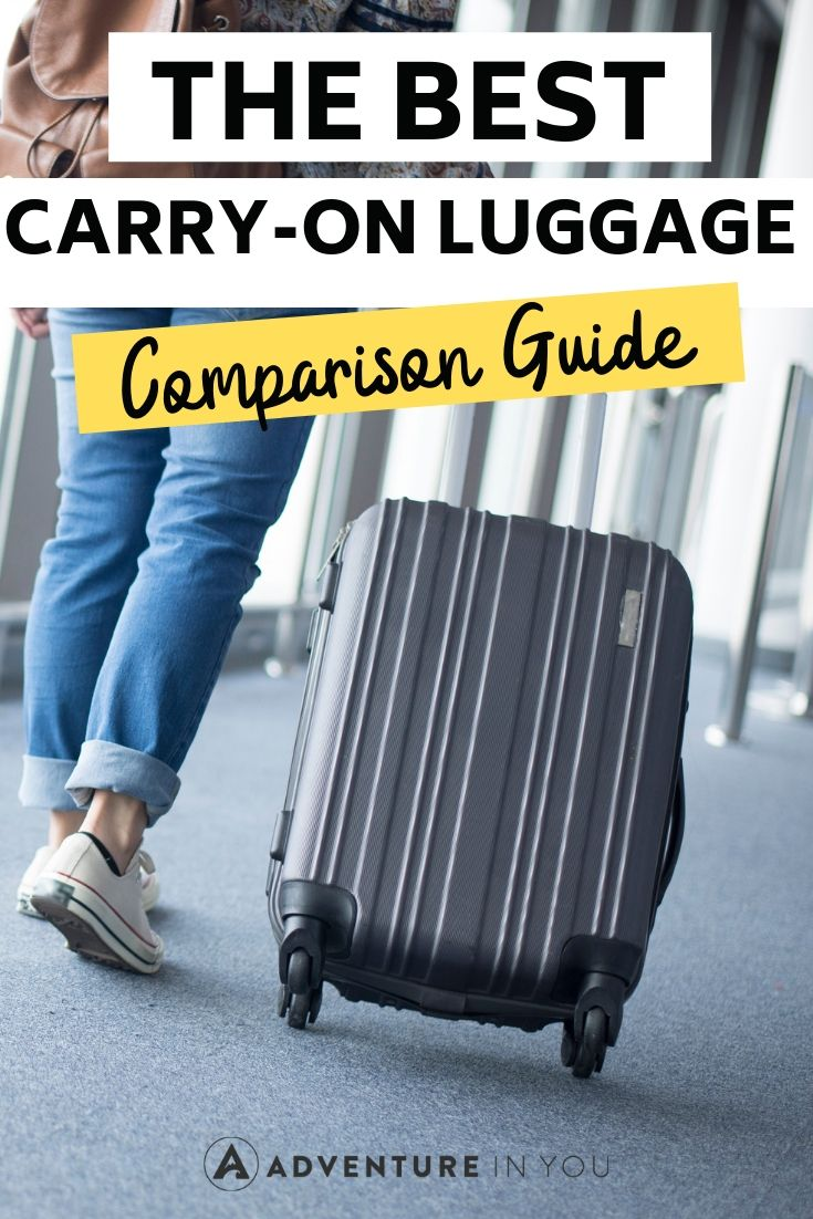Best Carry-on Luggage | Looking for the best carry-on luggage? Here's our complete guide to choosing the ideal piece of luggage to bring right on the plane with you!