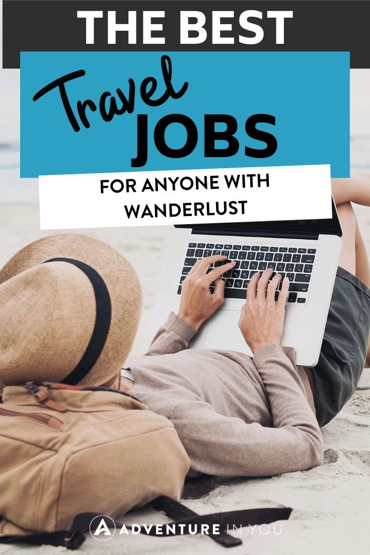 Best Travel Jobs | Looking to escape the everyday working life? Here are 33 jobs that allow you to work and travel!
