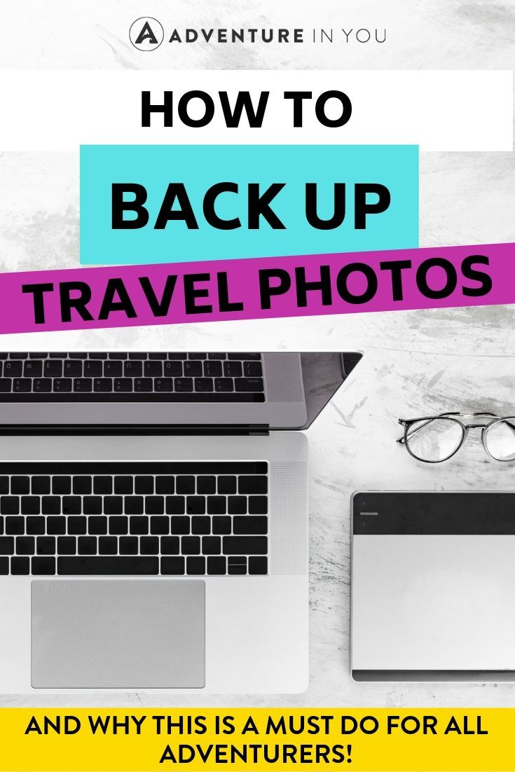 Back Up Travel Photos | Every traveler should back up their irreplaceable photos. Here are three ways to back up your pictures and why it's so important to do so!