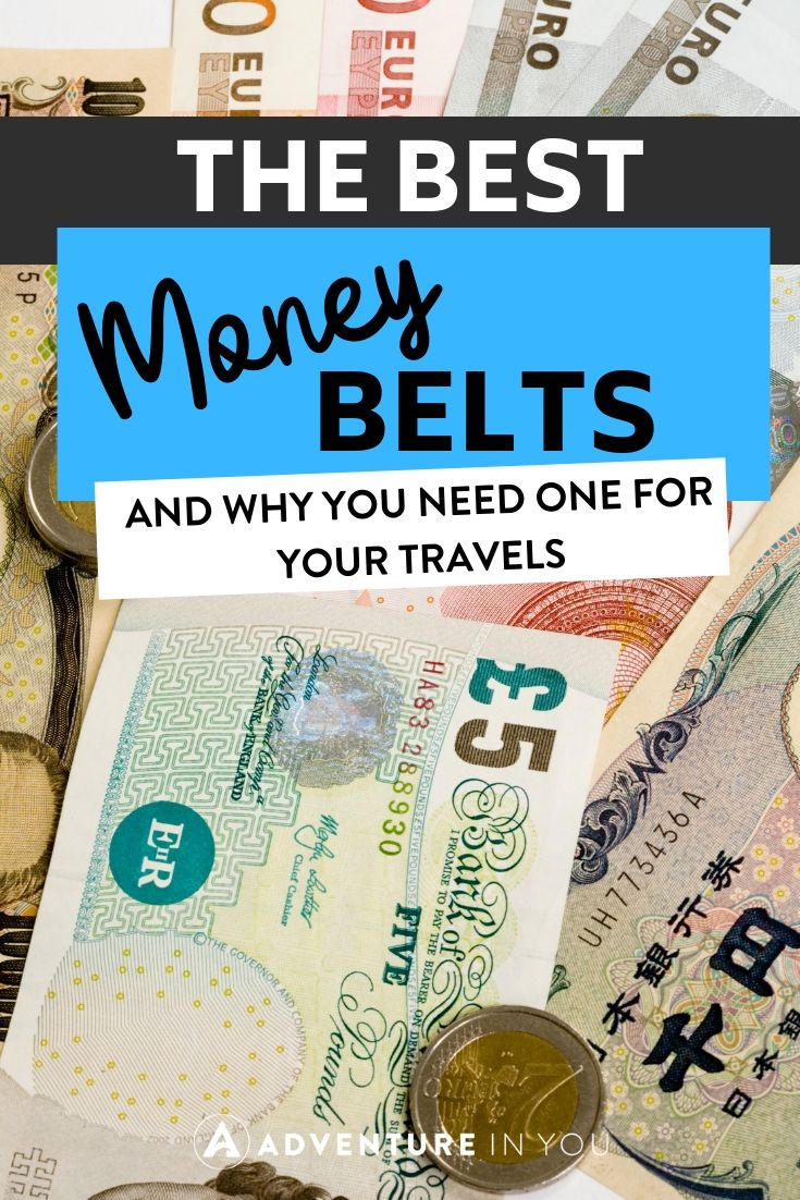 Best Money Belts | Searching for the best money belt to take on your travels? Check out this guide to the best money belts on the market and why you need one!