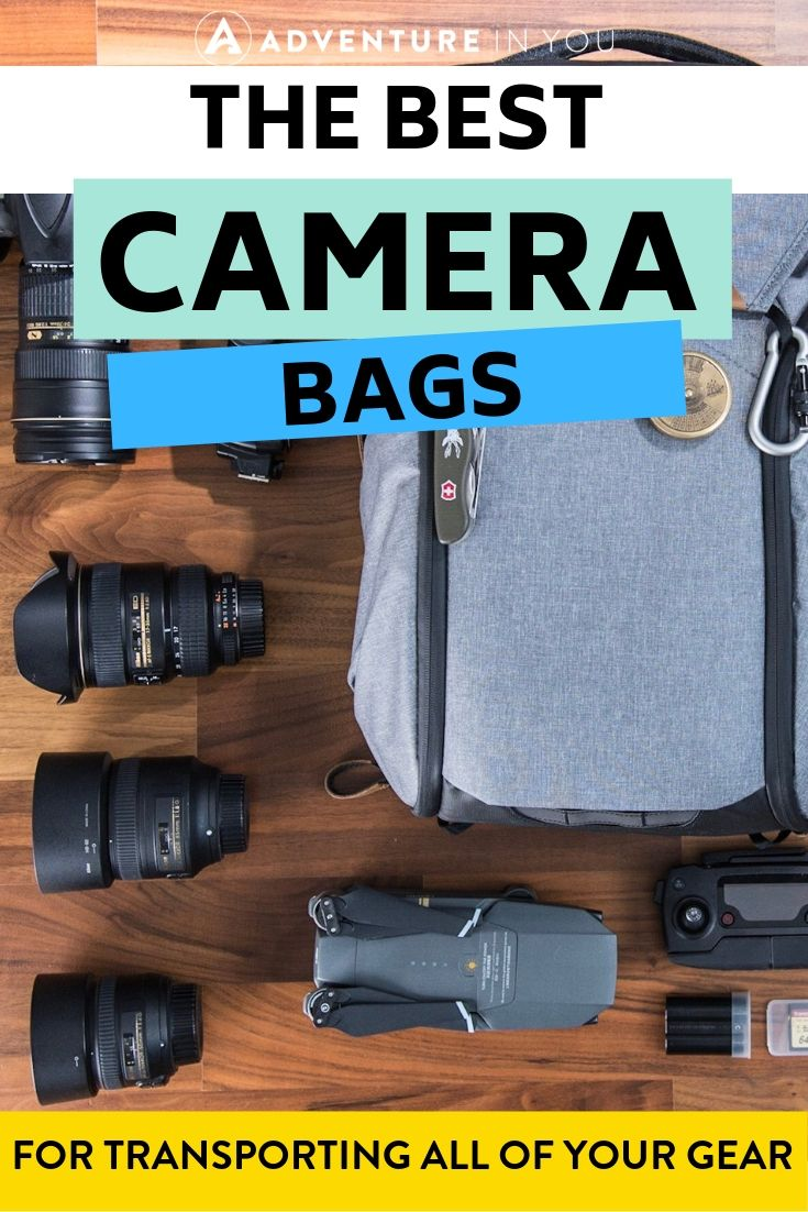 Best Camera Bags | Looking for a bag to carry all of your camera gear? Check out reviews of the best camera bags here!