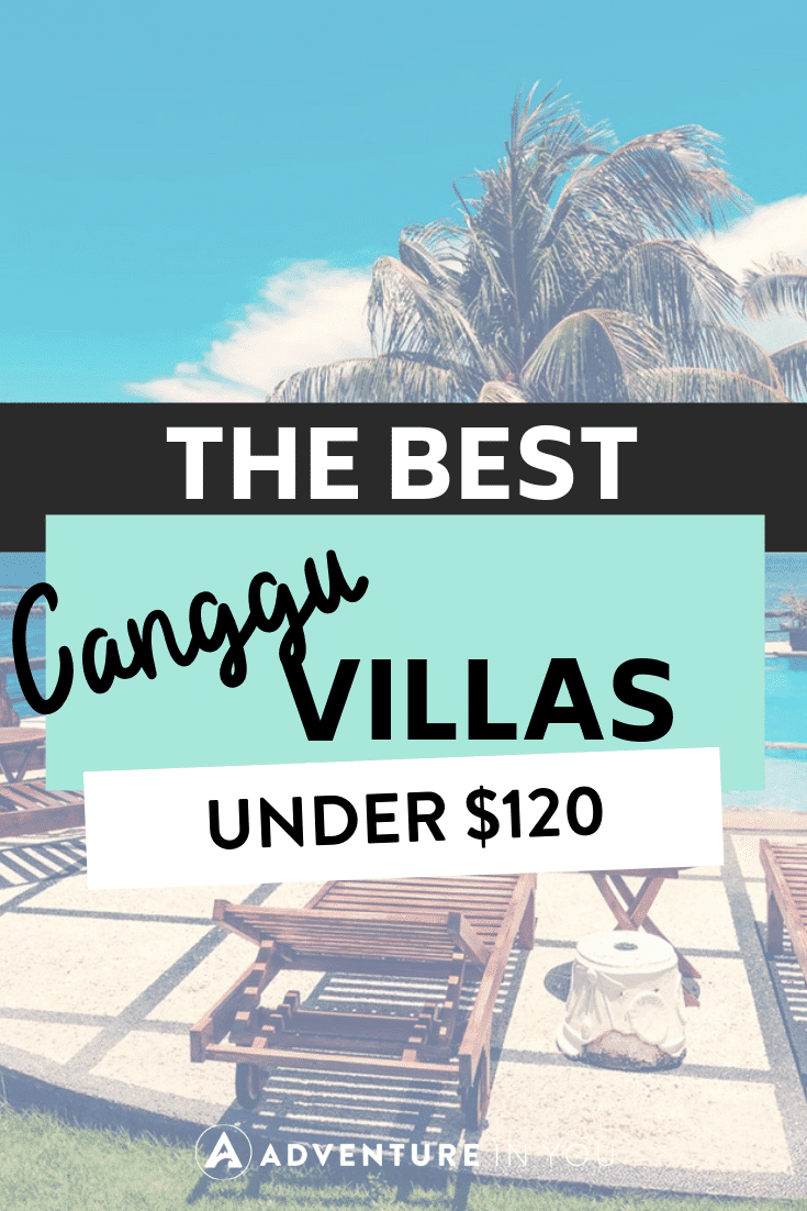 Canggu Bali | Looking for where to stay in Canggu Bali? Here is our guide on the best villas in Canggu that are under $120!