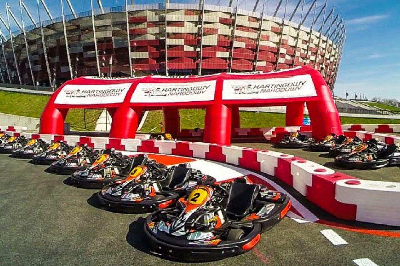 go-karting at Kartingowy Narodowy