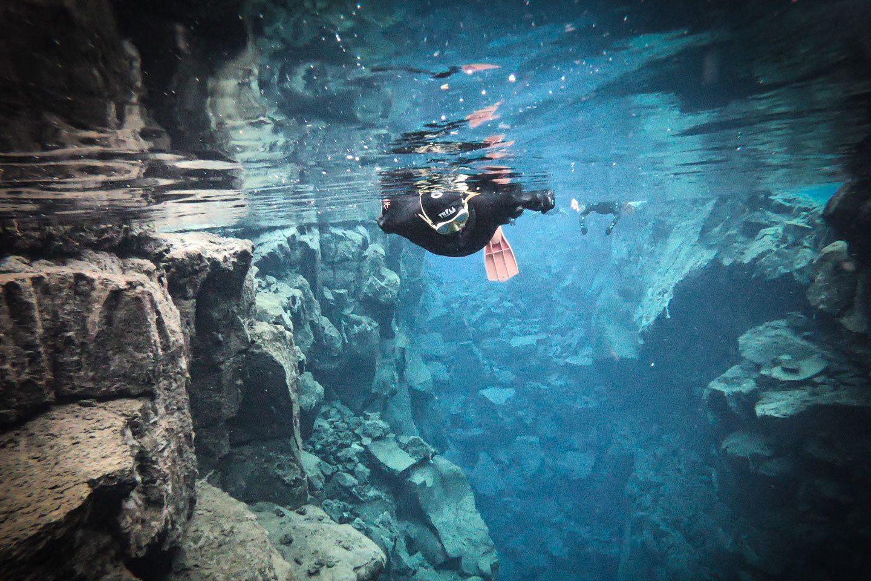 silfra fissure snorkeling