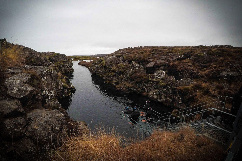 snorkeling platform national park
