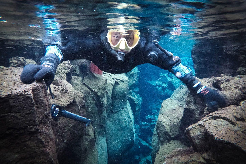 snorkeling tectonic plates