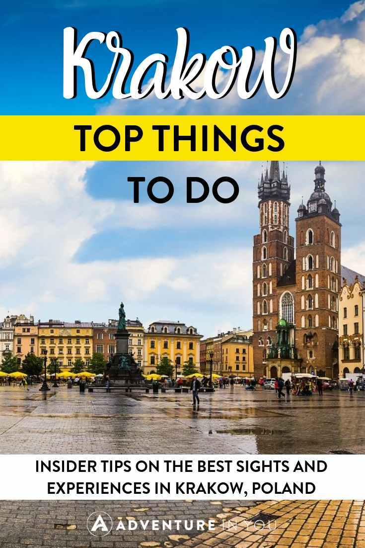 Things to Do in Krakow | Headed to Krakow, Poland? Here are our recommendations on the best things to do in the city!
