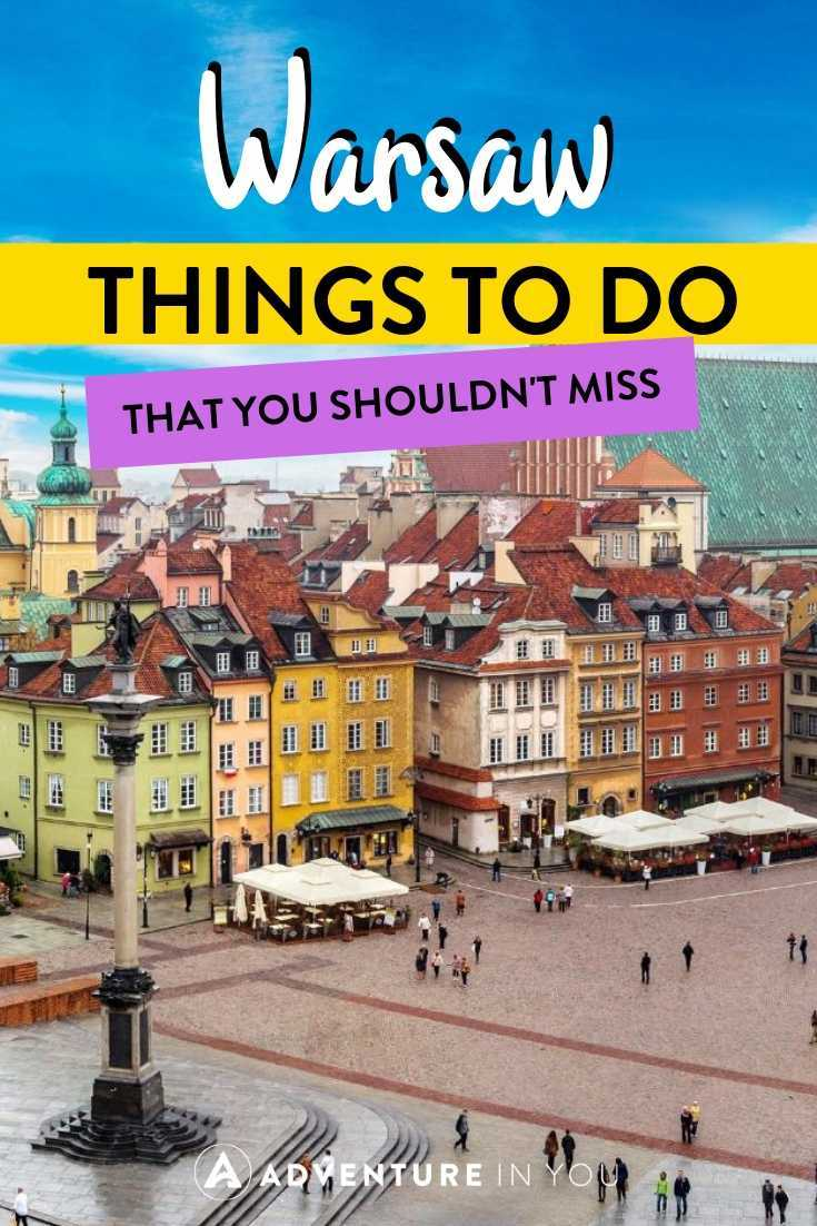 Things to Do in Warsaw, Poland | Heading to Poland's capital? Here are the top things to do in Warsaw that you shouldn't miss!