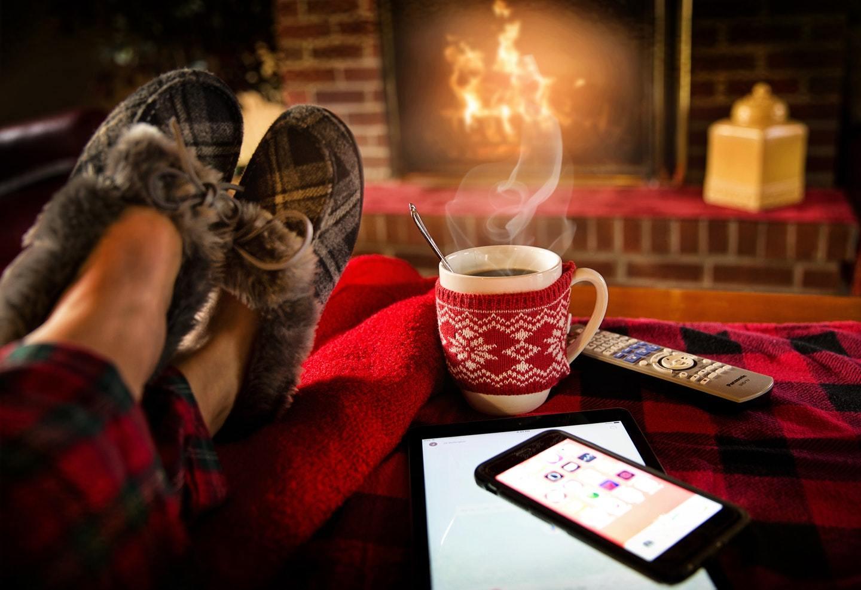 keeping warm in winter