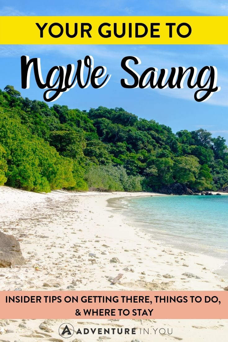Ngwe Saung Guide | Planning a trip to Myanmar? Make sure you stop by this idyllic beach town! Here's a go to guide for everything you need to know about Ngwe Saung.