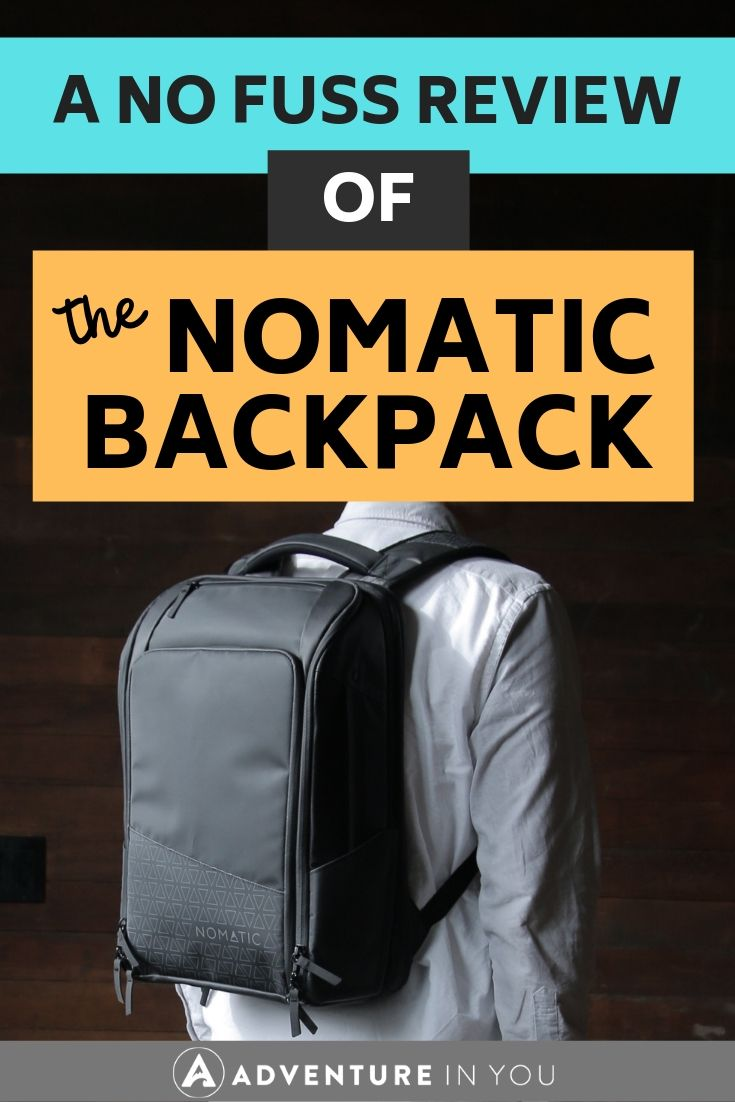 Nomatic Backpack Review | Looking for a new backpack? Read our review of Nomatic's to decide if it's the right one for you!