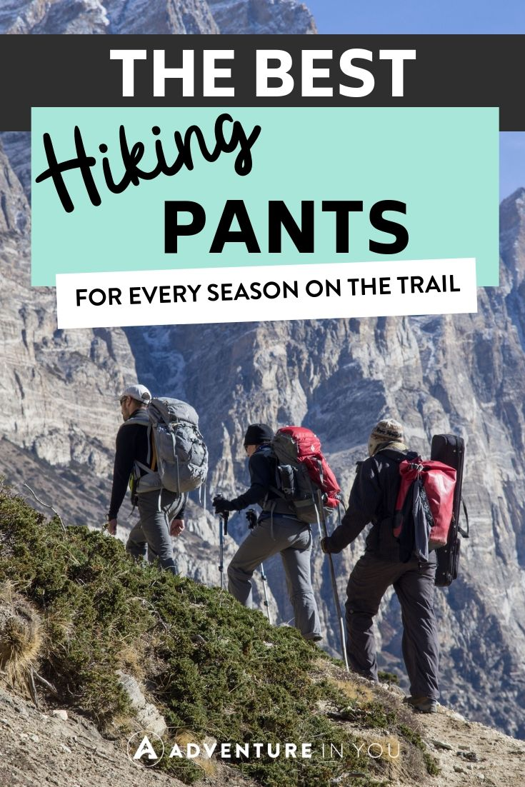 Best Hiking Pants | Hiking pants are essential for any adventurer. Give these reviews a look to find a pair that's best for you.
