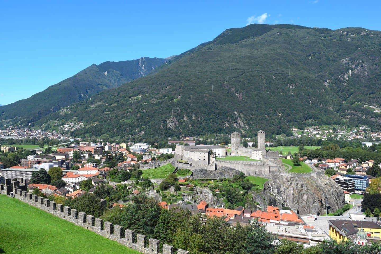 view of bellinzona