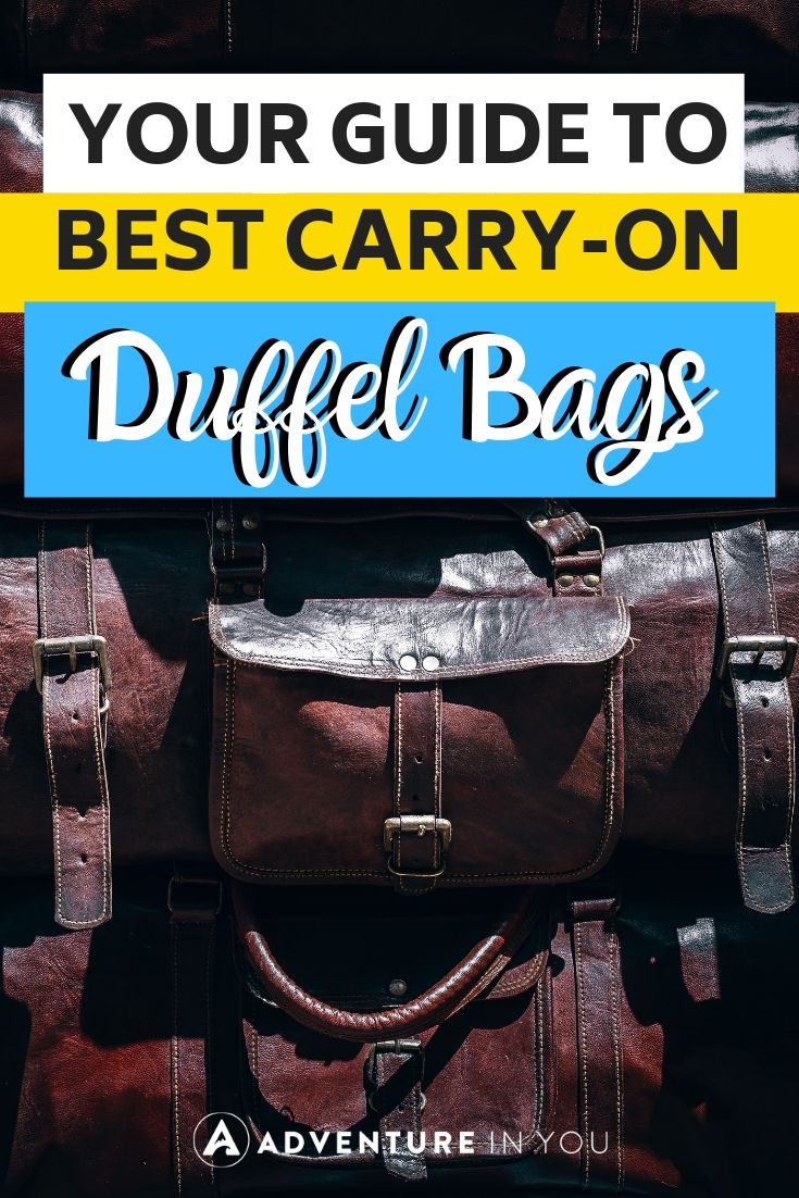 Best Carry-on Duffel Bags | Preparing for an upcoming trip? Use a duffel bag to fit everything you need! Here are ten of the best ones available with complete reviews!