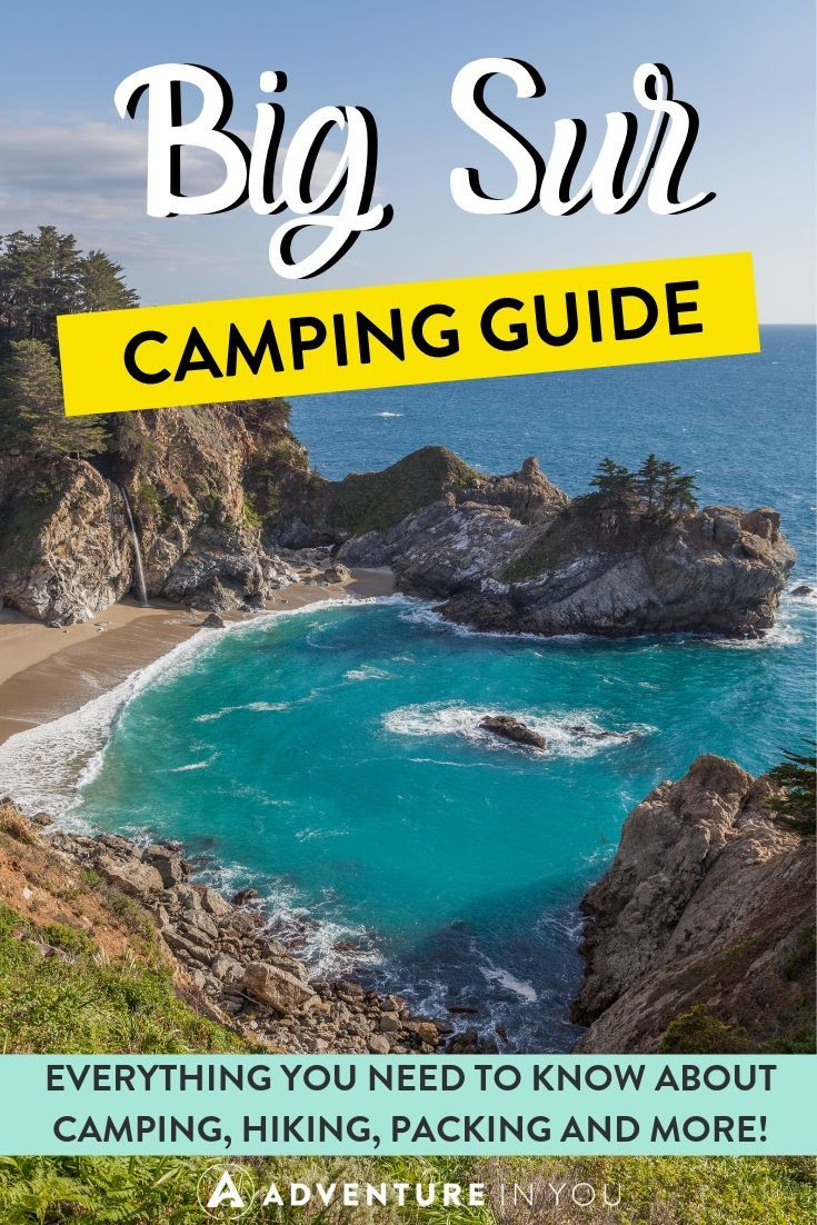 Big Sur Camping Guide | Big Sur is one of the most beautiful places in the world, and camping there is a breathtaking experience. Check out our complete guide filled with everything you need to know for planning a camping trip to Big Sur!