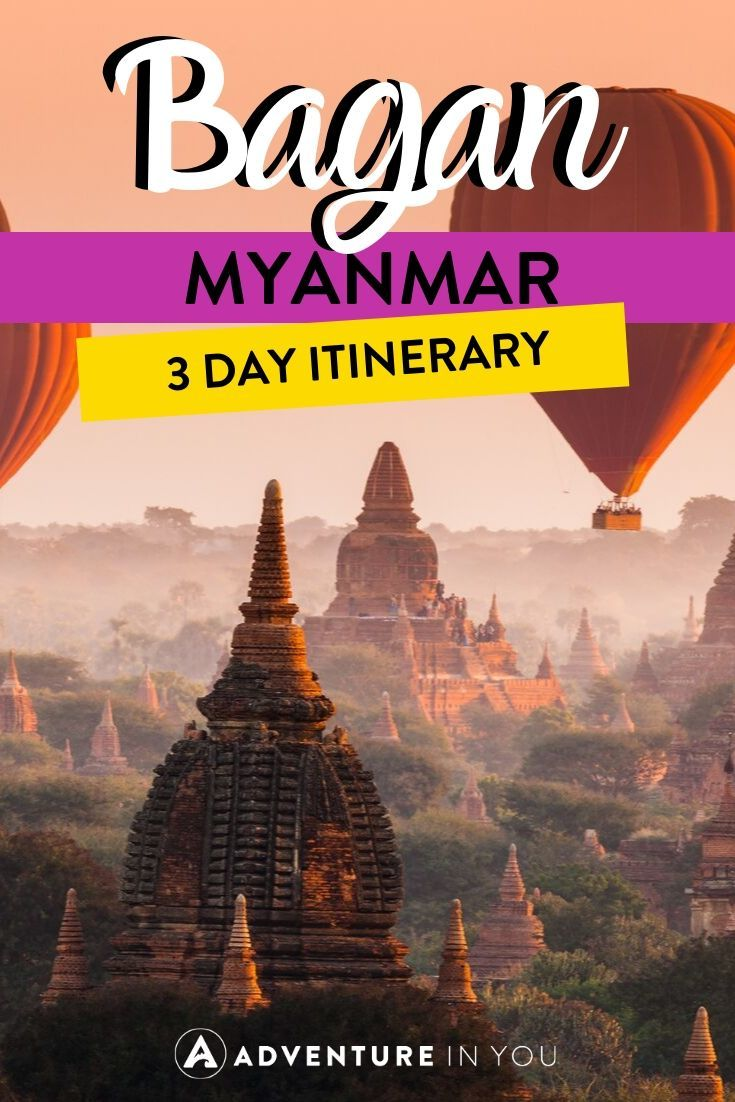 Bagan 3 Day Itinerary | Visiting Myanmar? Here's the best way to spend three days in the magical ancient city of Bagan!