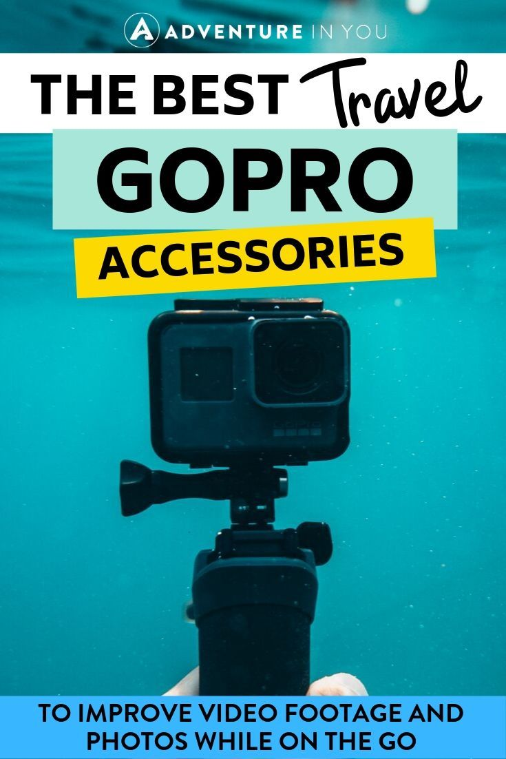 Best GoPro Accessories | Looking to up your GoPro game? Check out these killer accessories that will make taking photos and videos on your little camera much more interesting.