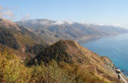 big sur mountains and ocean