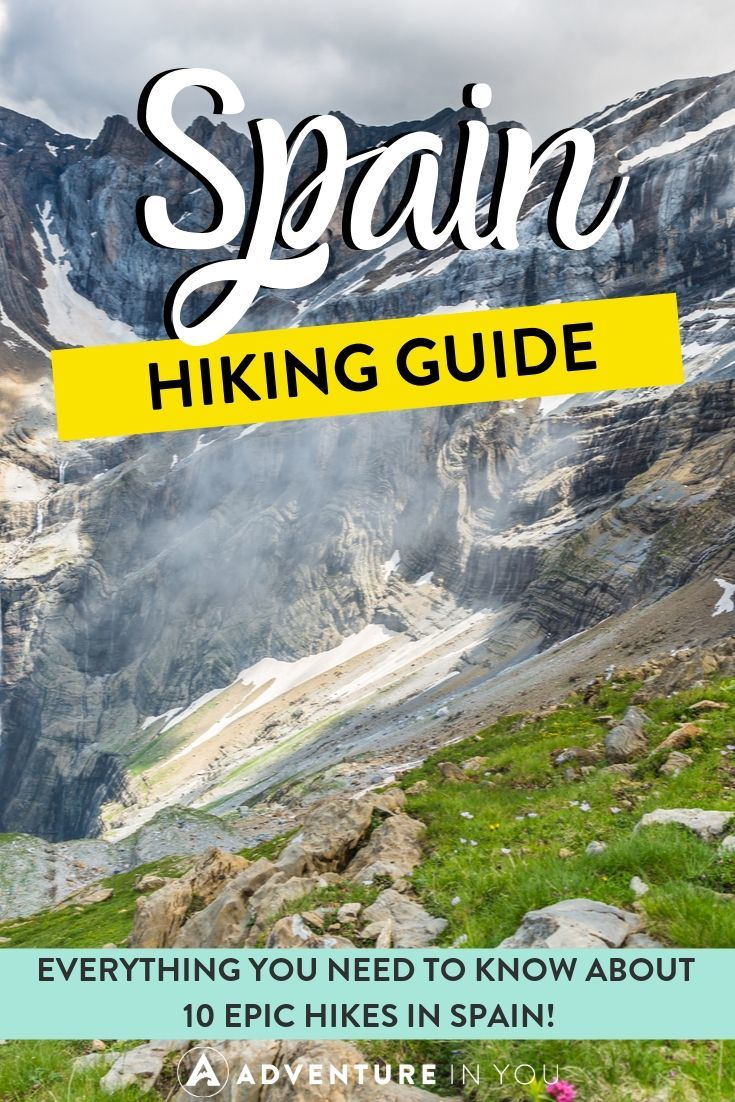 Hiking in Spain | Hiking in Spain is a crazy cool bend of history, culture, and stunning outdoor views. If you're taking a Spanish holiday, check out these 10 hikes to add to your itinerary!