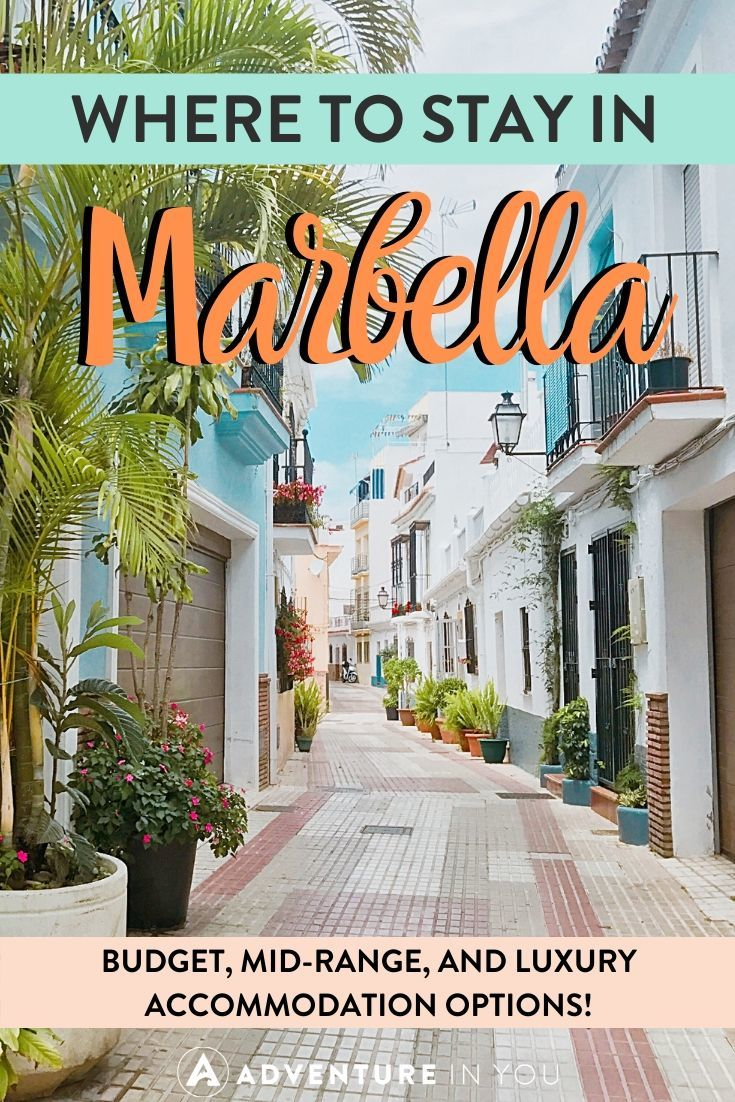 Where to Stay in Marbella | Taking a trip to Costa del Sol in the future? Here are the best places to stay in the area's most hip resort town, Marbella!