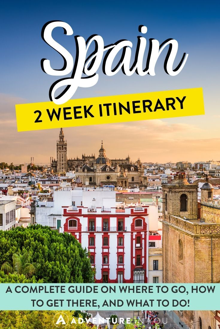 Spain Itinerary | If you're planning a trip to Spain, check out this two week itinerary filled with where to go, how to get there and what to do!