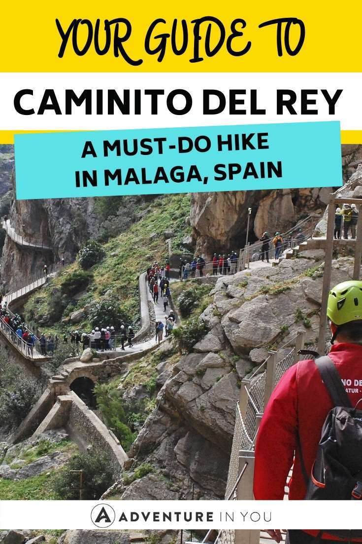 Caminito Del Rey Hike in Malaga, Spain | If you're looking for a hiking adventure in Spain, look no further than the El Caminito del Rey in Malaga! Here's our guide to this must-do hike.
