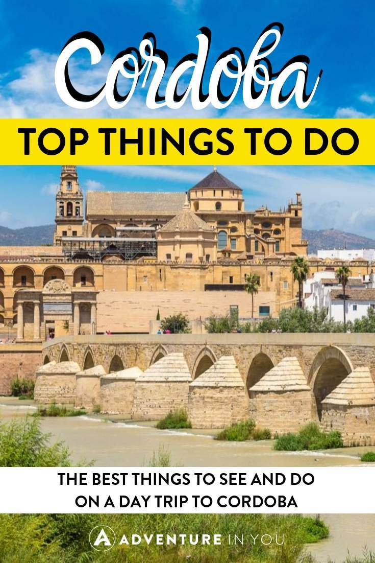 Things to Do in Cordoba on a Day Trip | Cordoba is the perfect day trip from Madrid or Seville. Here are the top things to see and do for a perfect day in Cordoba!