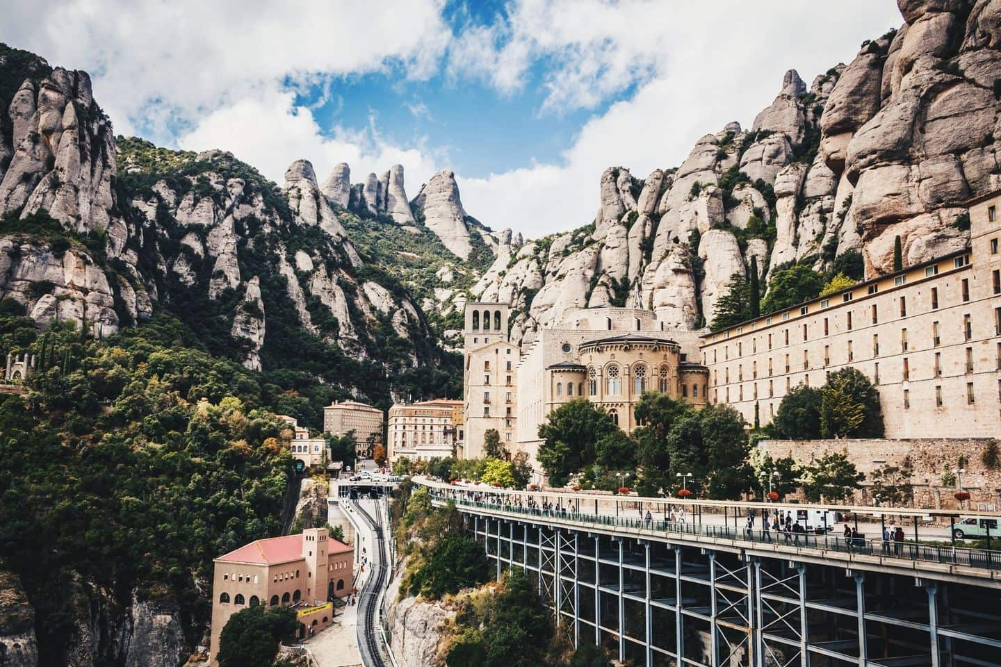 hiking in spain - montserrat