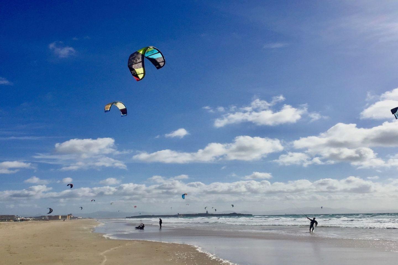 kite-surfing in tarifa