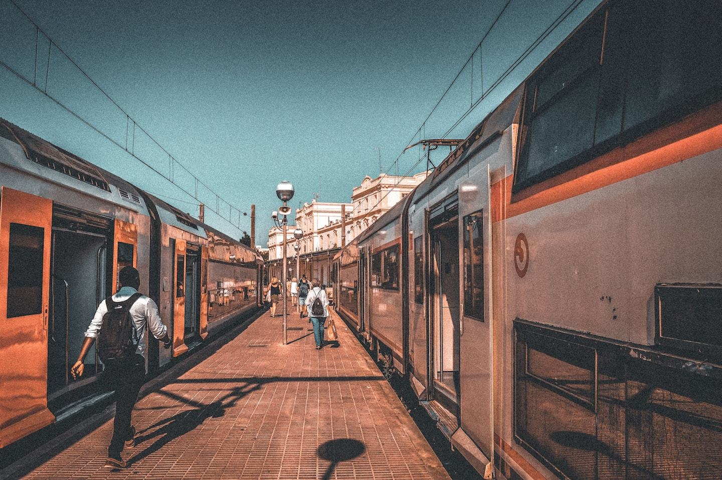 day trips from madrid - trains