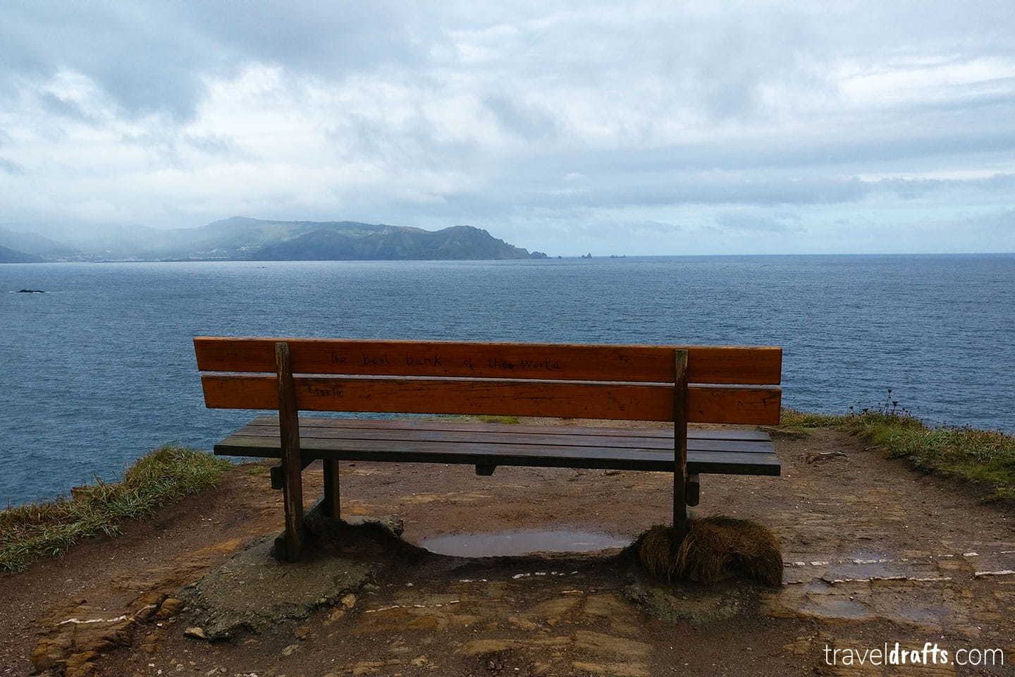 most beautiful bench in the world