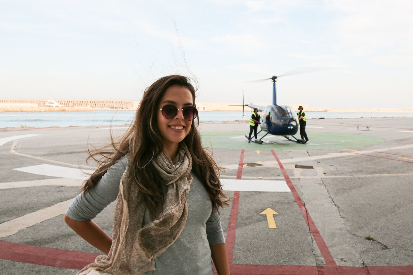 after an amazing barcelona helicopter tour