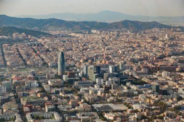 helicopter tour over barcelona