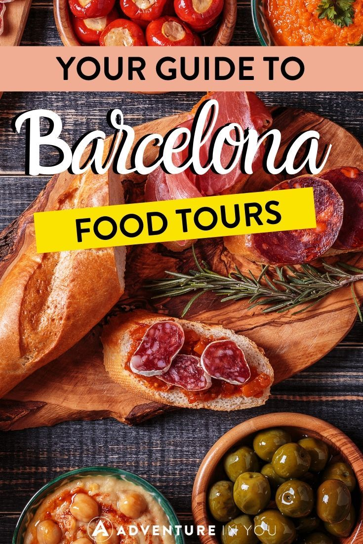 Best Barcelona Food Tours | There's no better way to discover Catalonian cuisine than with a food tour through Barcelona. Taste local delicacies, sip fine Spanish wines and enjoy Barcelona cuisine to it's fullest!