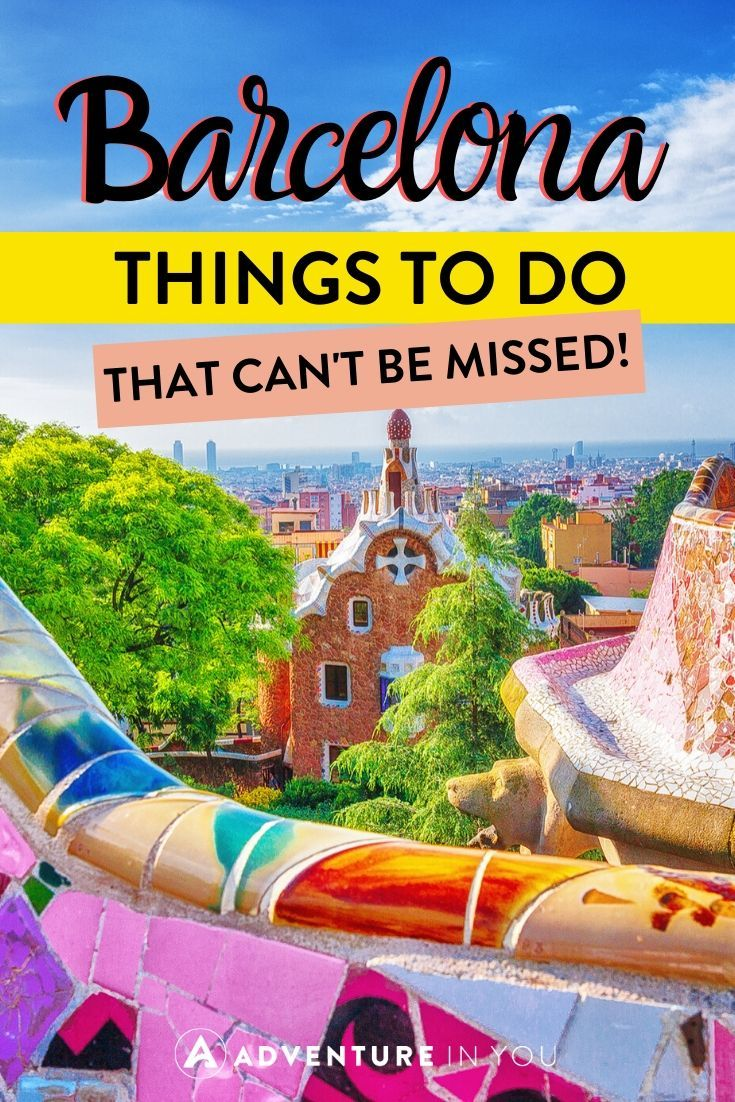 Things to Do in Barcelona | No trip to Spain is complete without a visit to Barcelona. Here's everything you should do while visiting this colorful city!