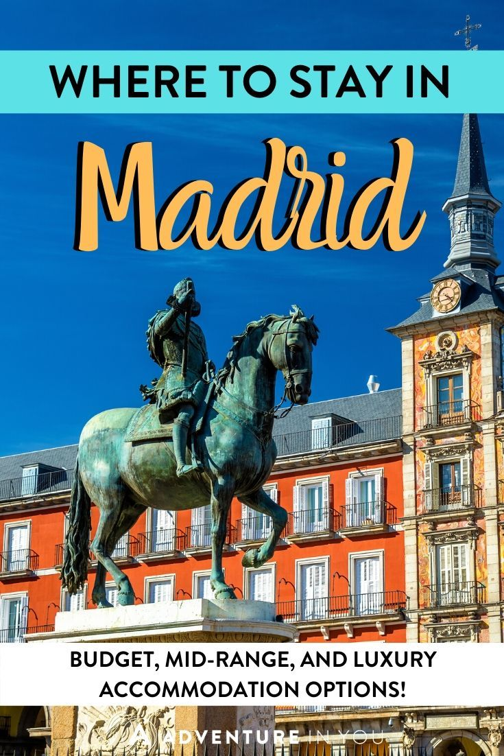 Where to Stay in Madrid   A trip to Spain isn't complete without a stay in the country's capital: Madrid. Here are the best places to stay in the city with a neighborhood guide, too!