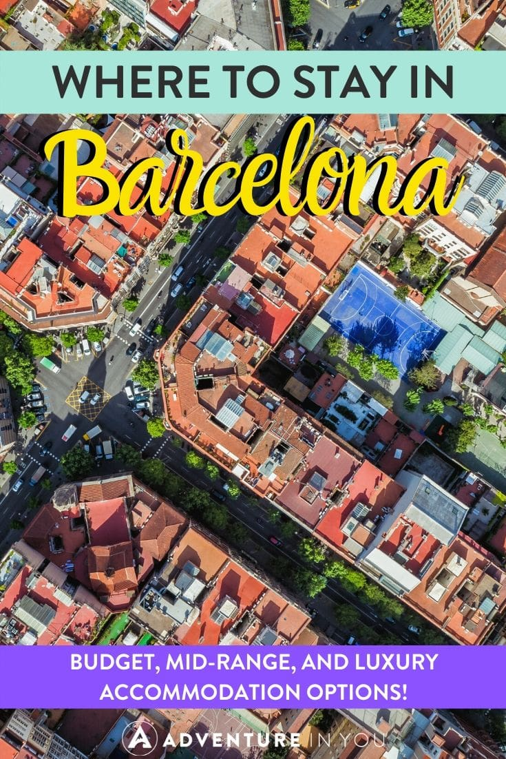 Where to Stay in Barcelona | No trip to Spain is complete without a visit to Barcelona. Here are the best places to stay in this seaside city!