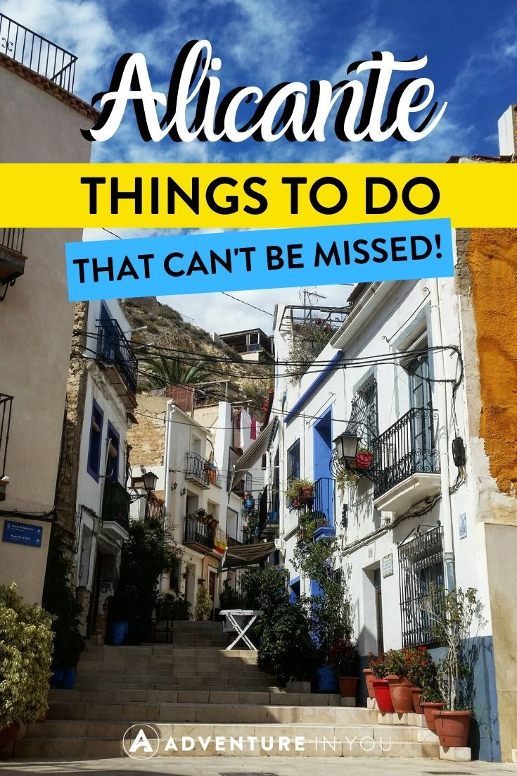 Things to Do in Alicante | Alicante is one of the most beautiful places in Spain with so much to see and do. Here's everything you can't miss on a visit to this amazing city!