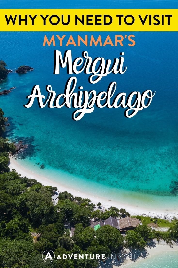 Why You Need To Visit Myanmar's Mergui Archipelago | For a trip truly off the beaten path, head to Myanmar's remote Mergui Archipelago for the trip of a lifetime. Here's why you need to visit ASAP!