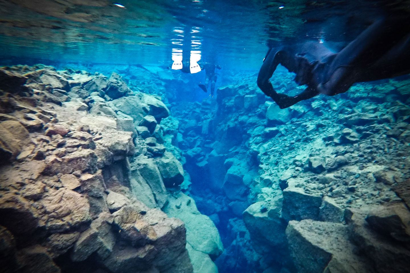 diving in silfra