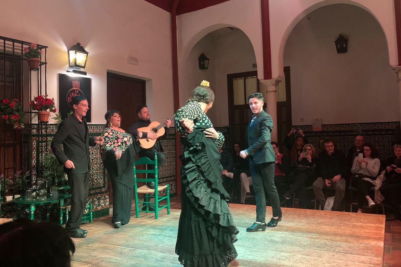 flamenco performance in seville, spain